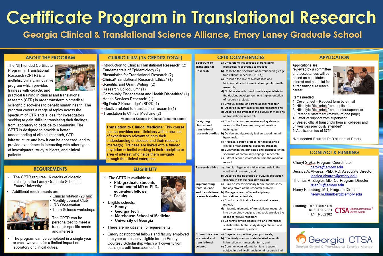 Georgia Clinical Translational Science Alliance Page Title