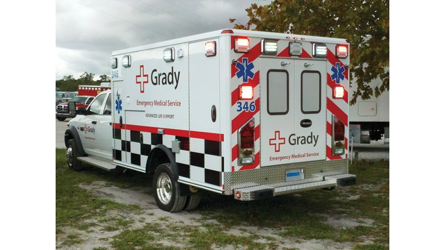 Patients transported by EMS to Grady participated in the study