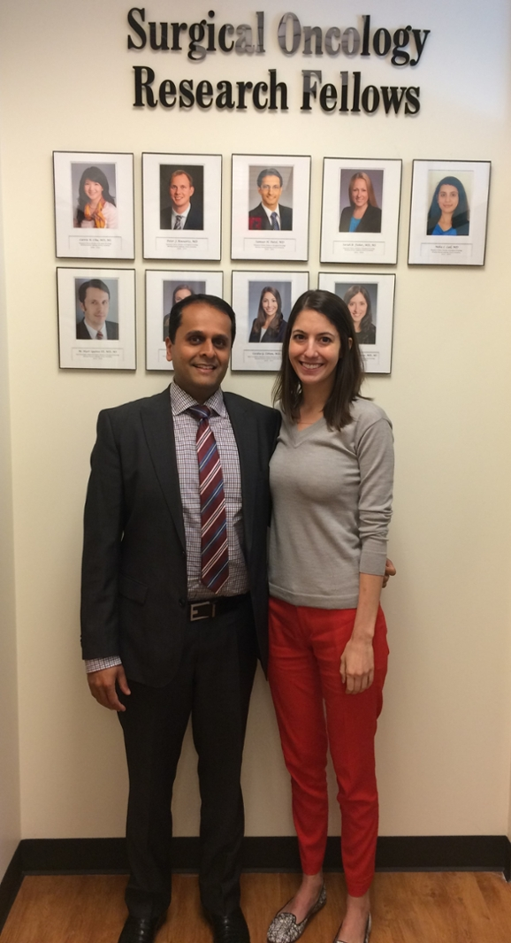 Shishir Maithel, MD, FACS and Cecilia Ethun, MD